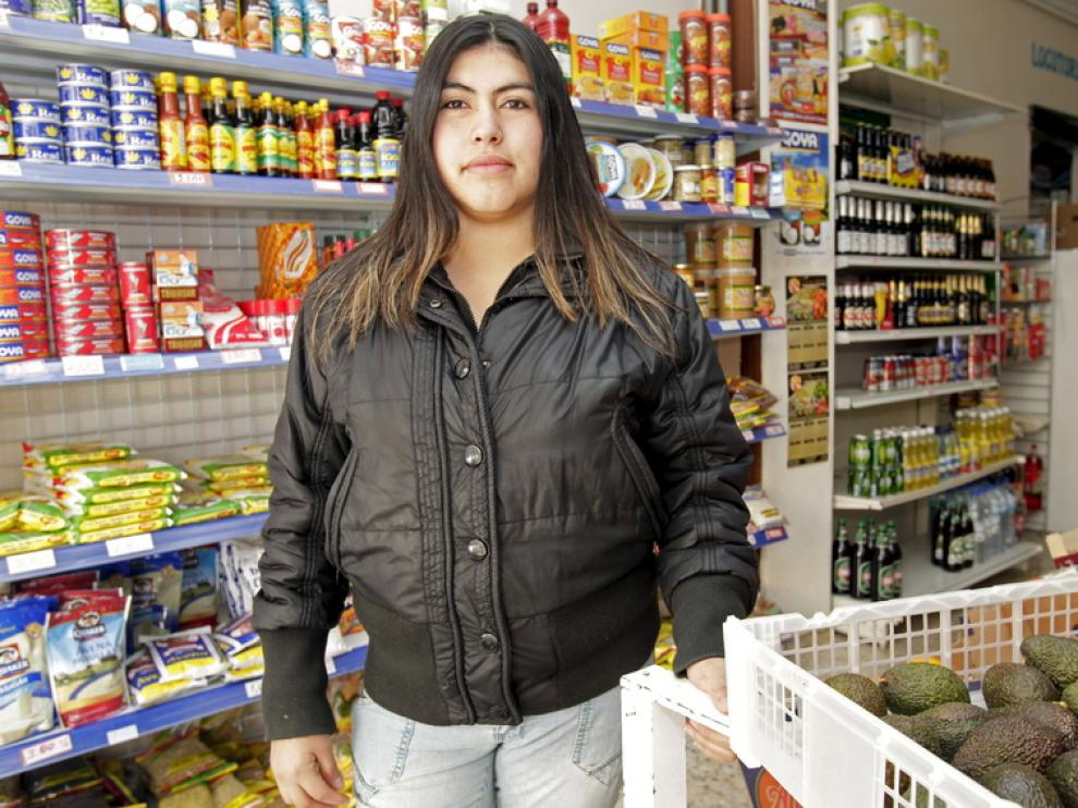 Teresa Chico proviene de Ecuador.