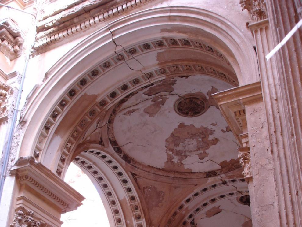 El Monasterio de Santa Fe, foto de archivo