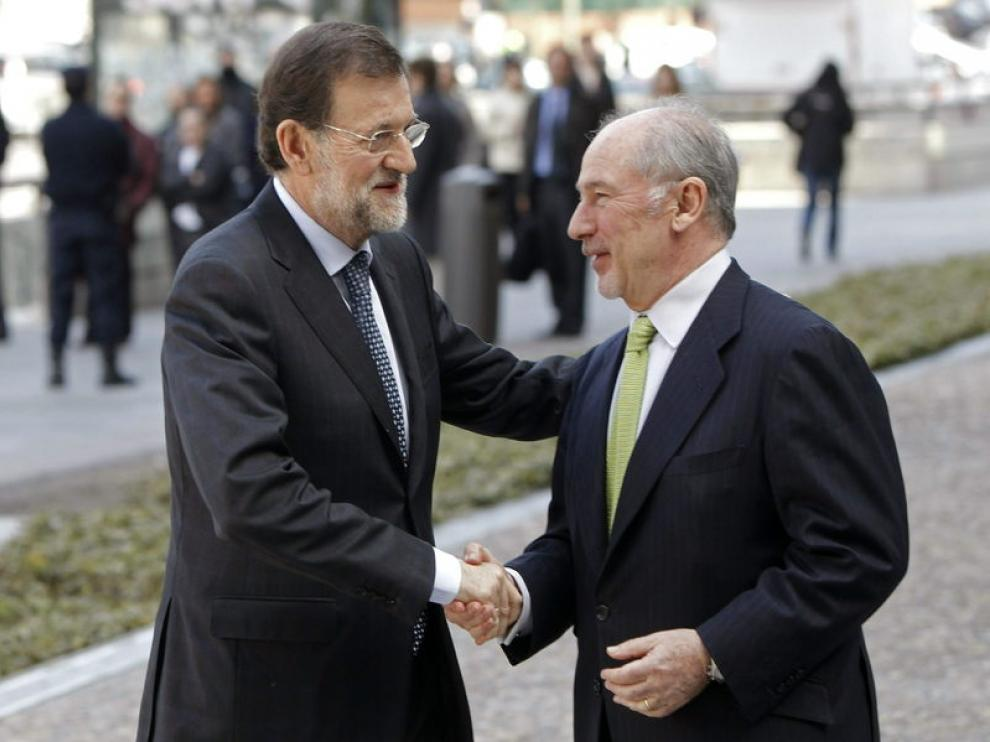 Rajoy y Rato
