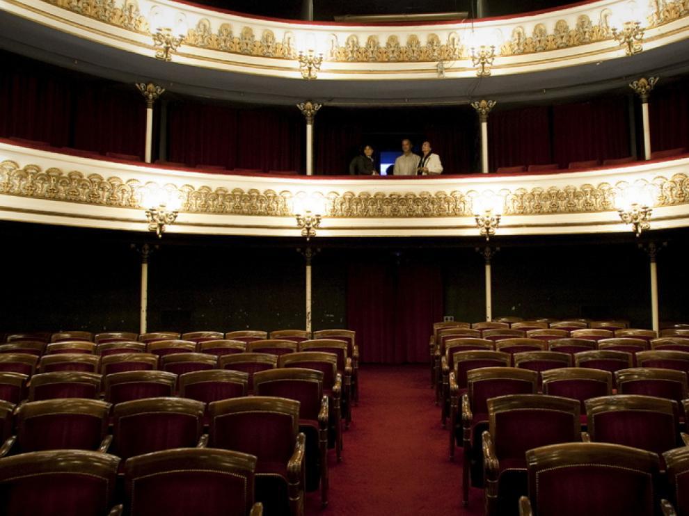 Patio de butacas del Teatro Principal