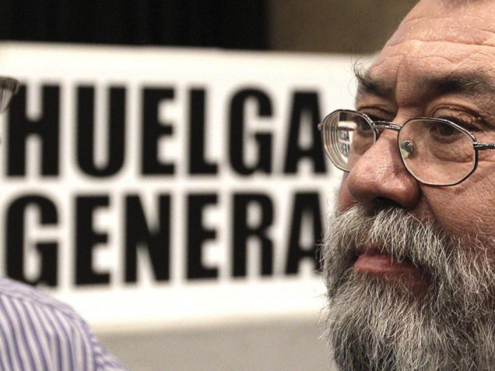 Cándido Méndez, en la convocatoria de la huelga general