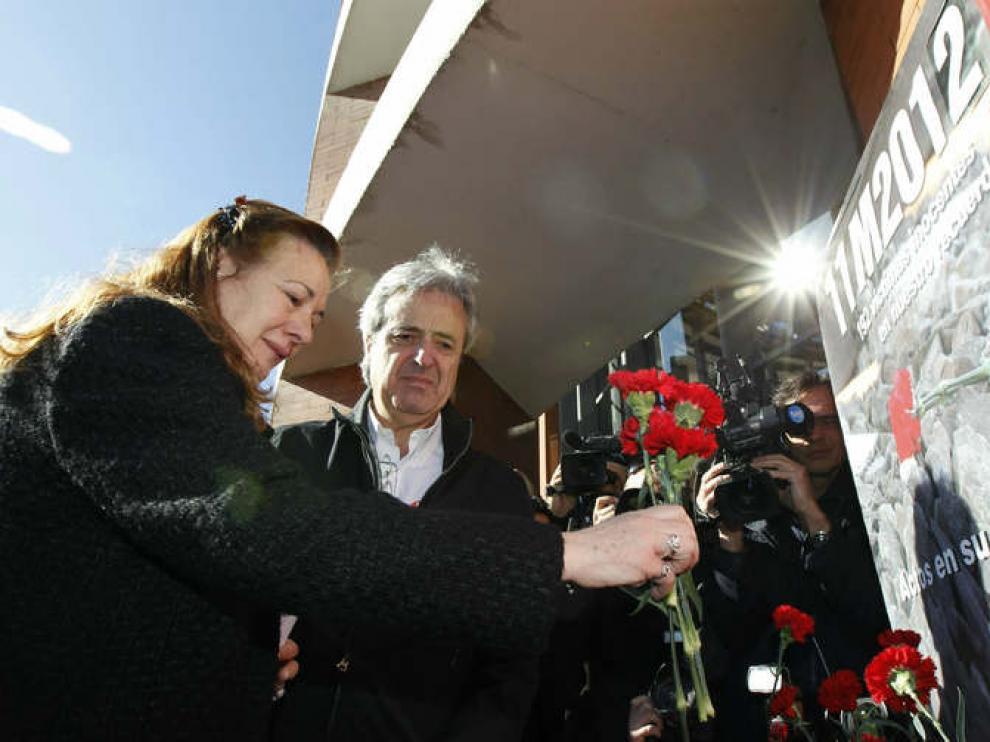 Pilar Manjón, homenaje a las víctimas del 11-M
