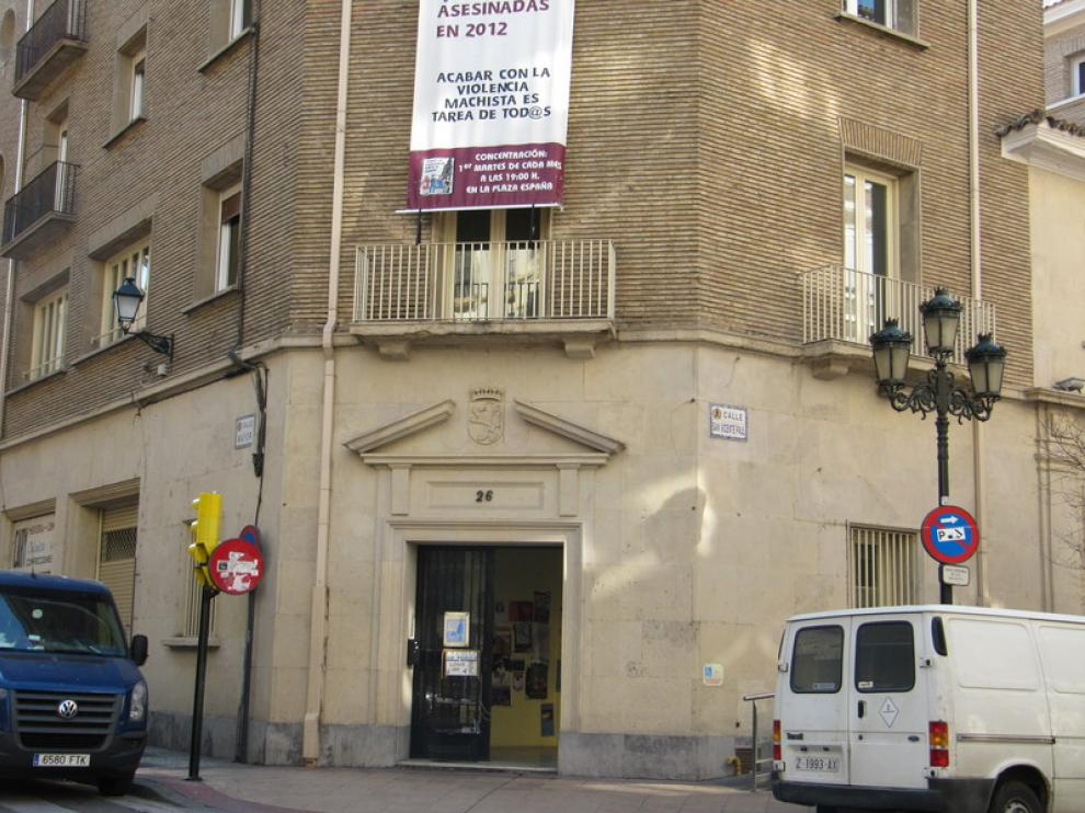 Sede de la FABZ, en Zaragoza.