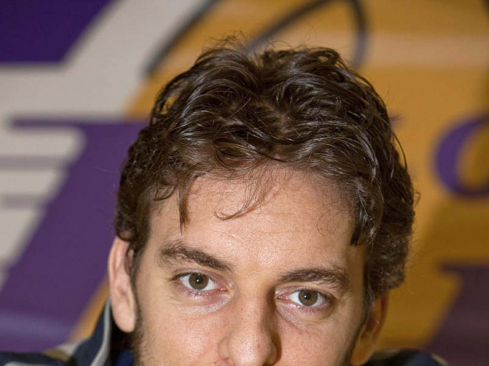 Imagen de archivo del jugador, Pau Gasol.