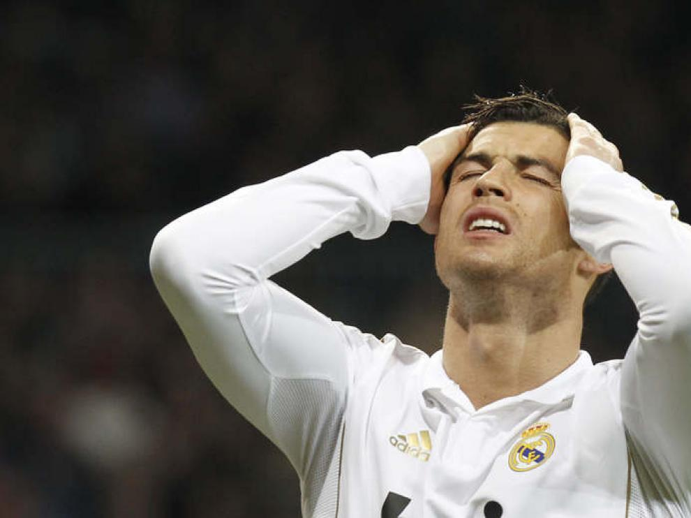 Cristiano Ronaldo en foto de archivo