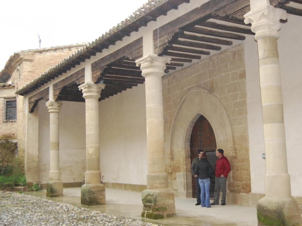 El monasterio de Casbas, en una foto de archivo.