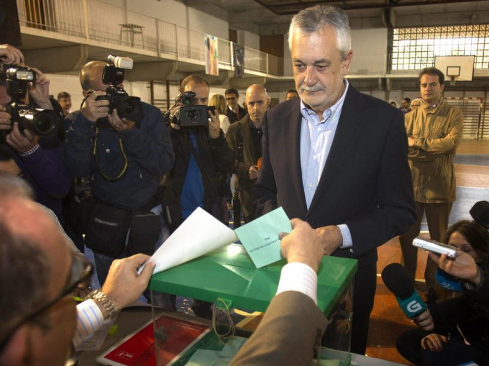 José Antonio Griñán, presidente de Andalucía