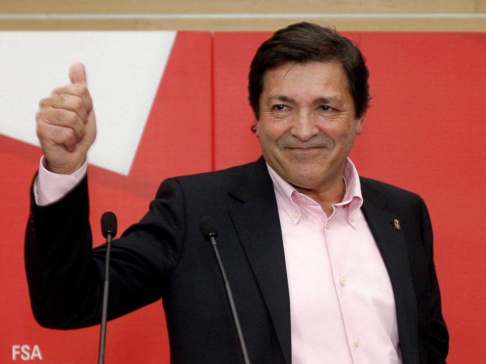El líder del PSOE en Asturias