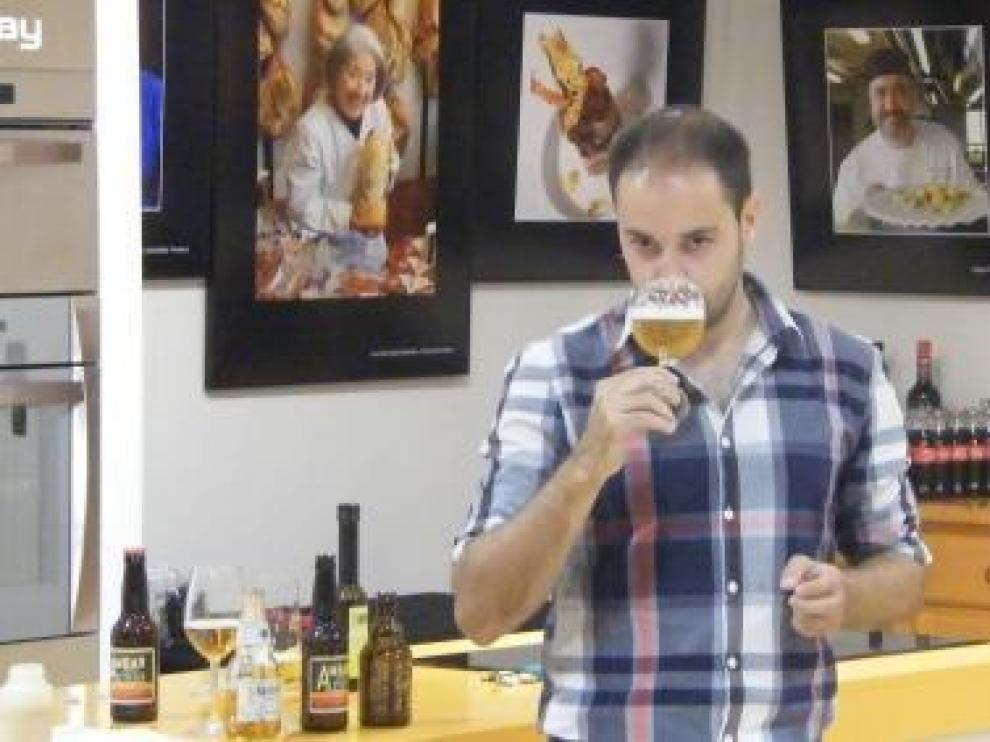 Cata de cervezas maridadas Ambar