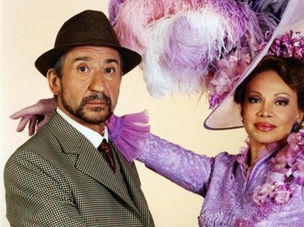 Pepe Sancristán y Paloma San Basilio, en la anterior versión de 'May fair lady'