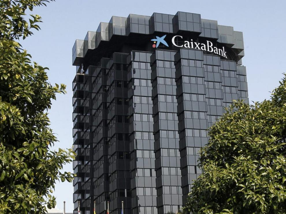 Imagen de la sede de Caixa Bank en Barcelona.