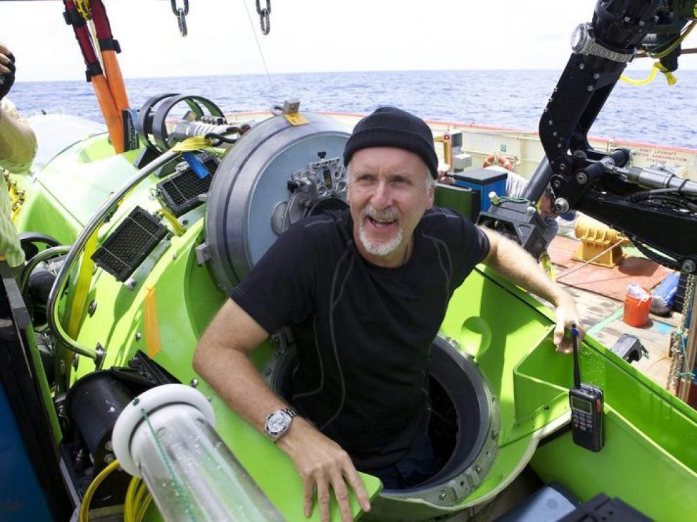 magen facilitada por Natinal Geographic del director de cine estadounidense y explorador para la Natinal Geographic, James Cameron