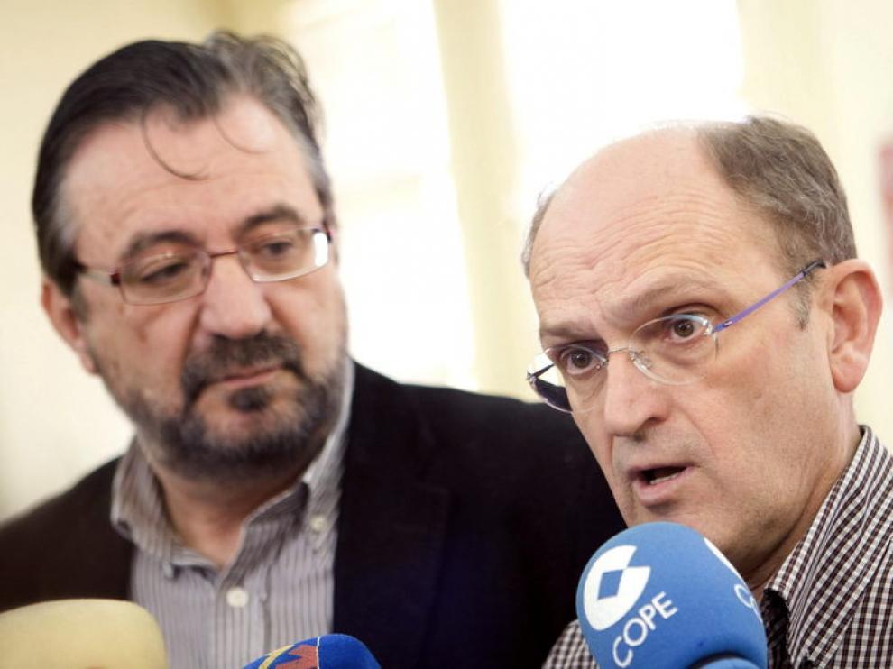 Julián Buey y Julián Lóriz