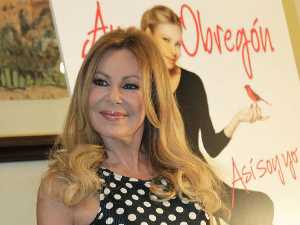 Ana Obregón, en la presentación de sus memorias