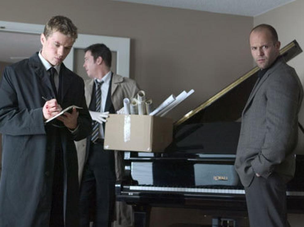 Jason Statham protagoniza el film, 'Caos'.