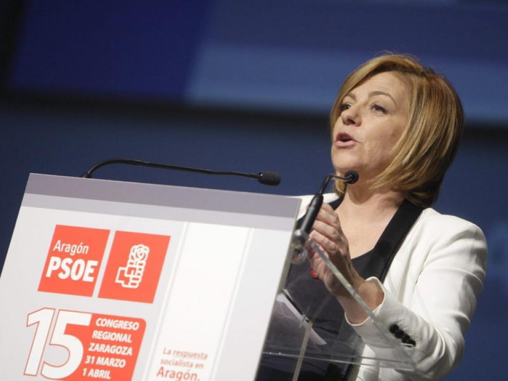 Valenciano habla en el congreso del PSOE