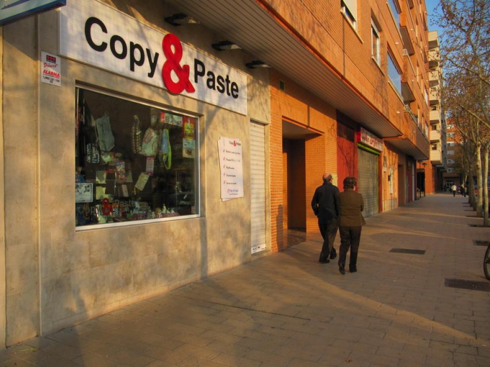 Copy&Paste, en la calle Aguarón, punto de recogida