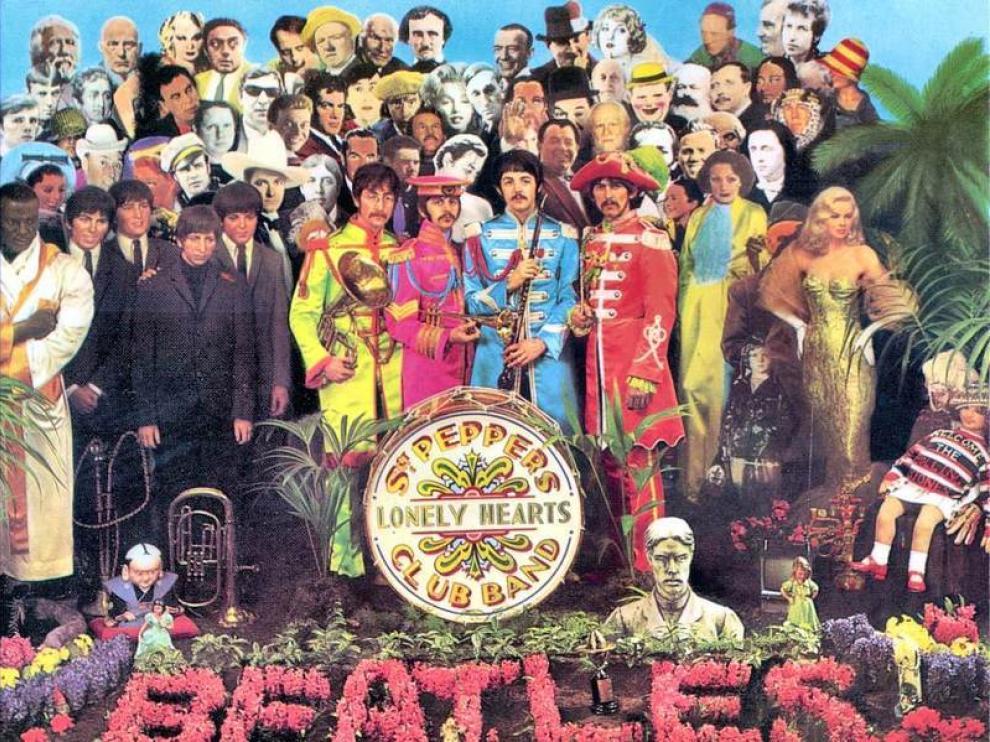 Portada del disco 'Sgt. Pepper's'.