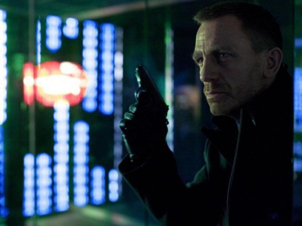 La primera imagen oficial de ?Skyfall?, protagonizada por Daniel Craig.