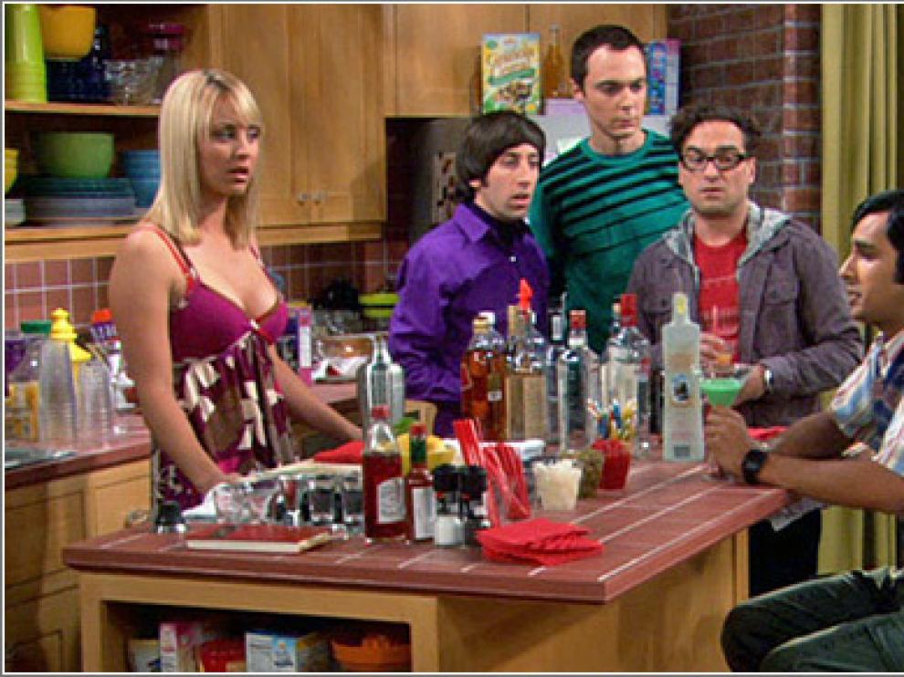 Fotograma de la serie, 'The Big Bang Theory'.