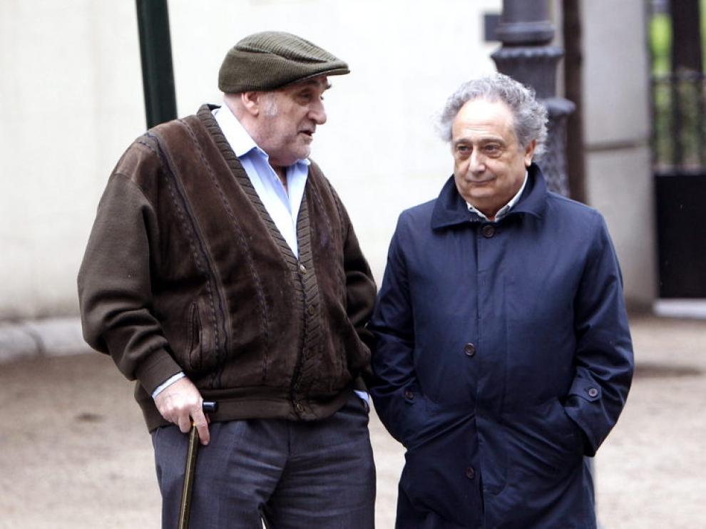 Los humoristas José Carabias y Enrique Bariego
