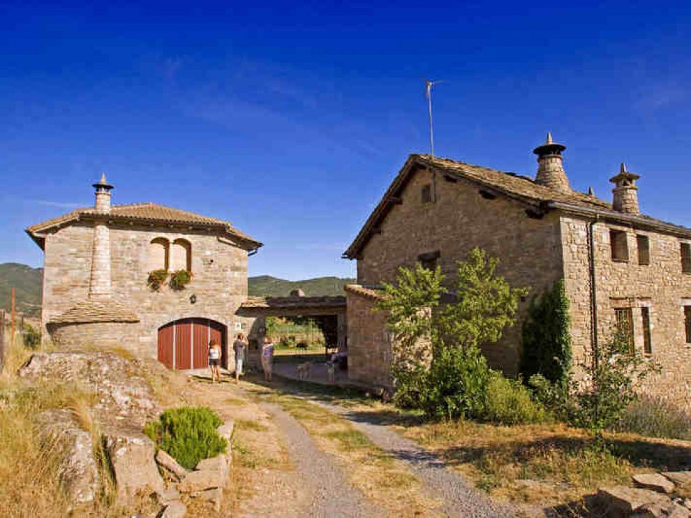 Una casa rural, en Sabiñánigo.