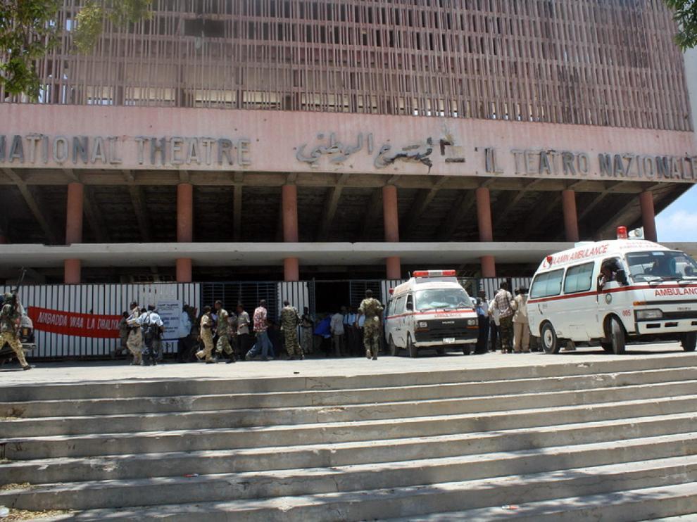 Teatro Nacional de la capital somalí
