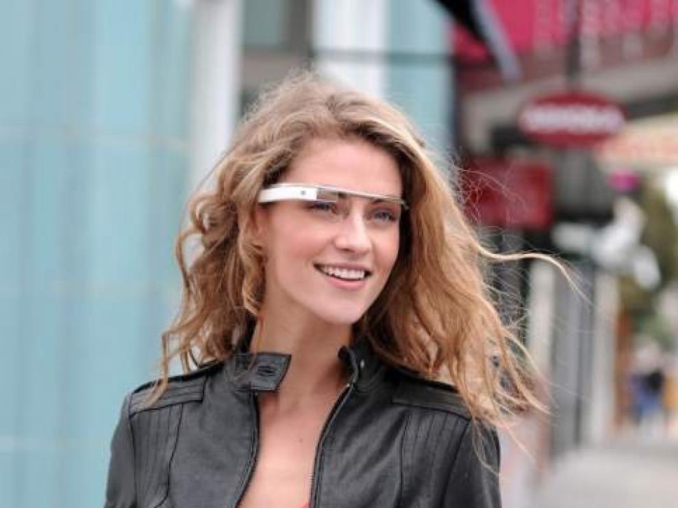 Prototipo de las gafas de realidad aumentada de Google