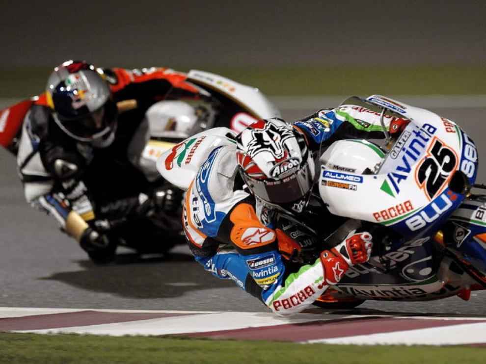 El español Maverick Viñales, en Moto3