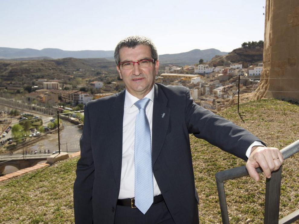 Emilio Bordonaba, persidente de la Ruta del Tambor y el Bombo