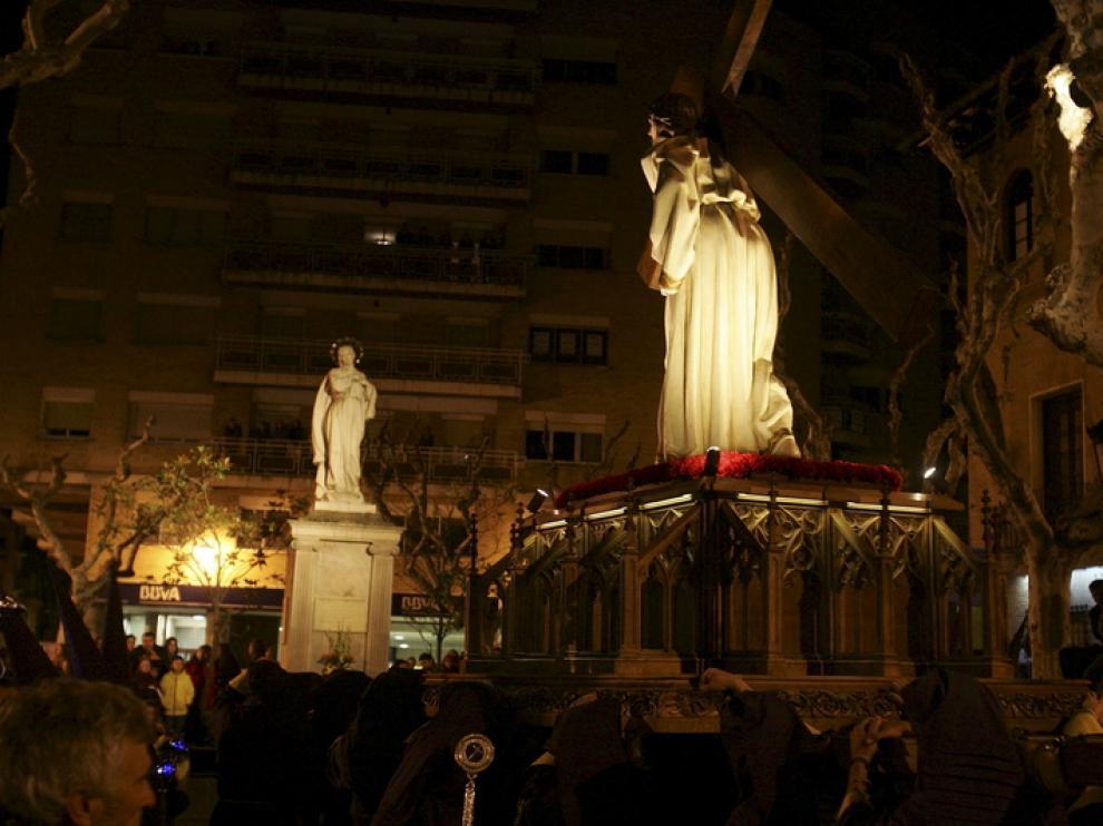 Procesión del Encuentro en Huesca