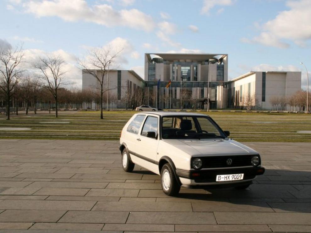 Es un Golf II de Volkswagen