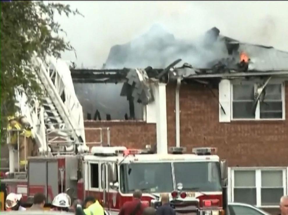 Imagen de un vídeo del lugar del accidente