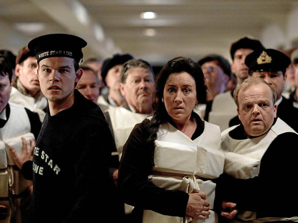 Un fotograma de la miniserie sobre el 'Titanic' que estrena Antena 3.