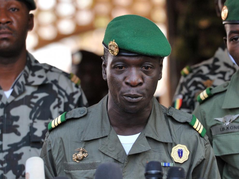 El jefe de la junta militar, el capital Amadou Haya Sanogo
