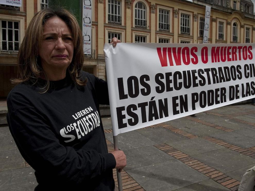 Familiares de secuestrados piden su liberación