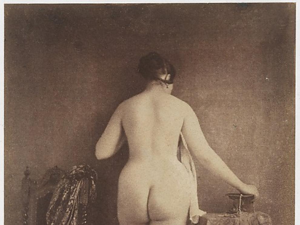 Una de las imágenes de la exposición 'Desnudo ante la cámara'.