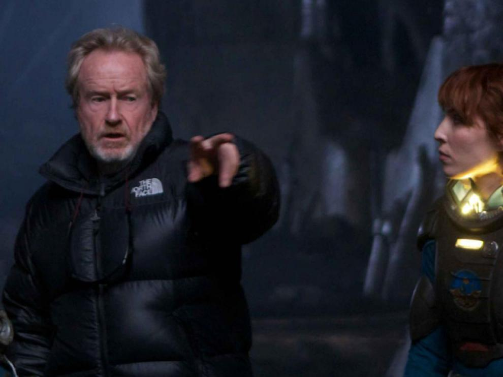 El director Ridley Scott