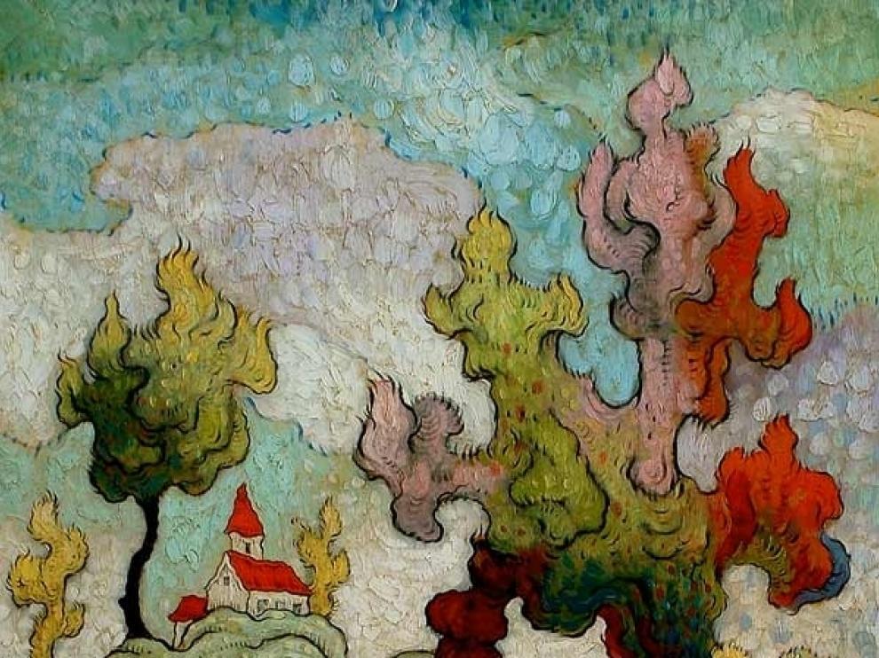 Una de las obras expuestas de Mark Briscoe
