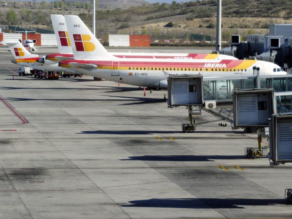 Iberia cancelará 122 vuelos debido a la huelga.