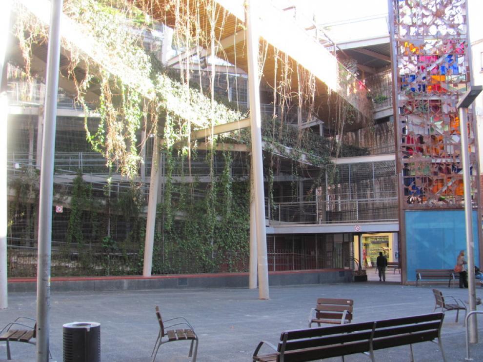 El jardín vertical de Delicias