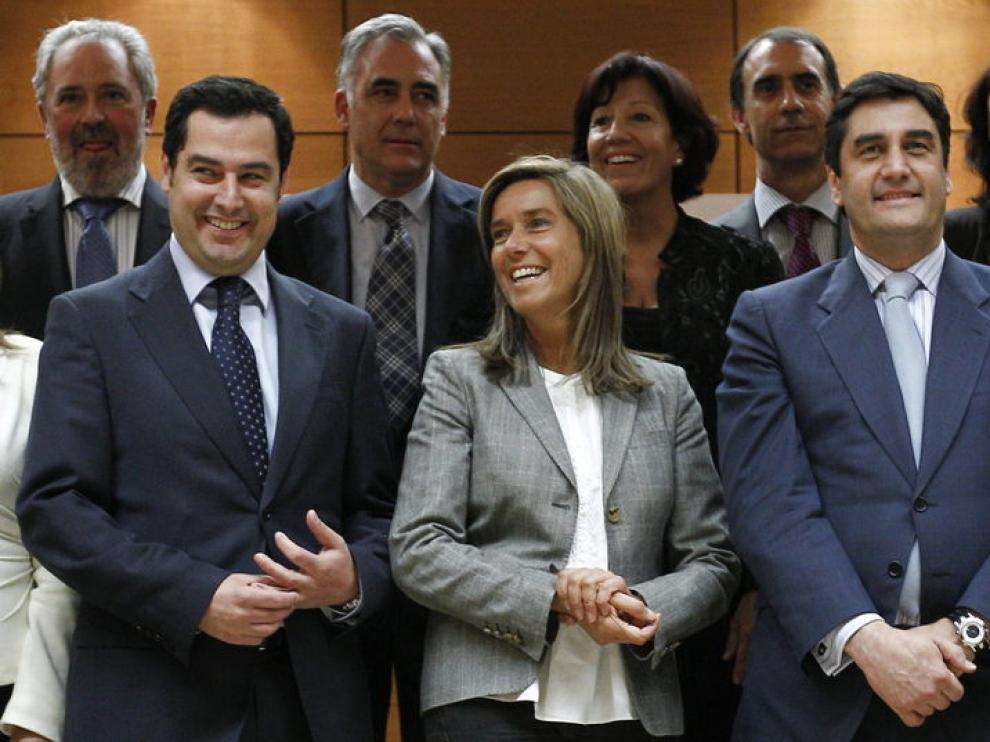 Ana Mato presidiendo el consejo territorial de dependencia