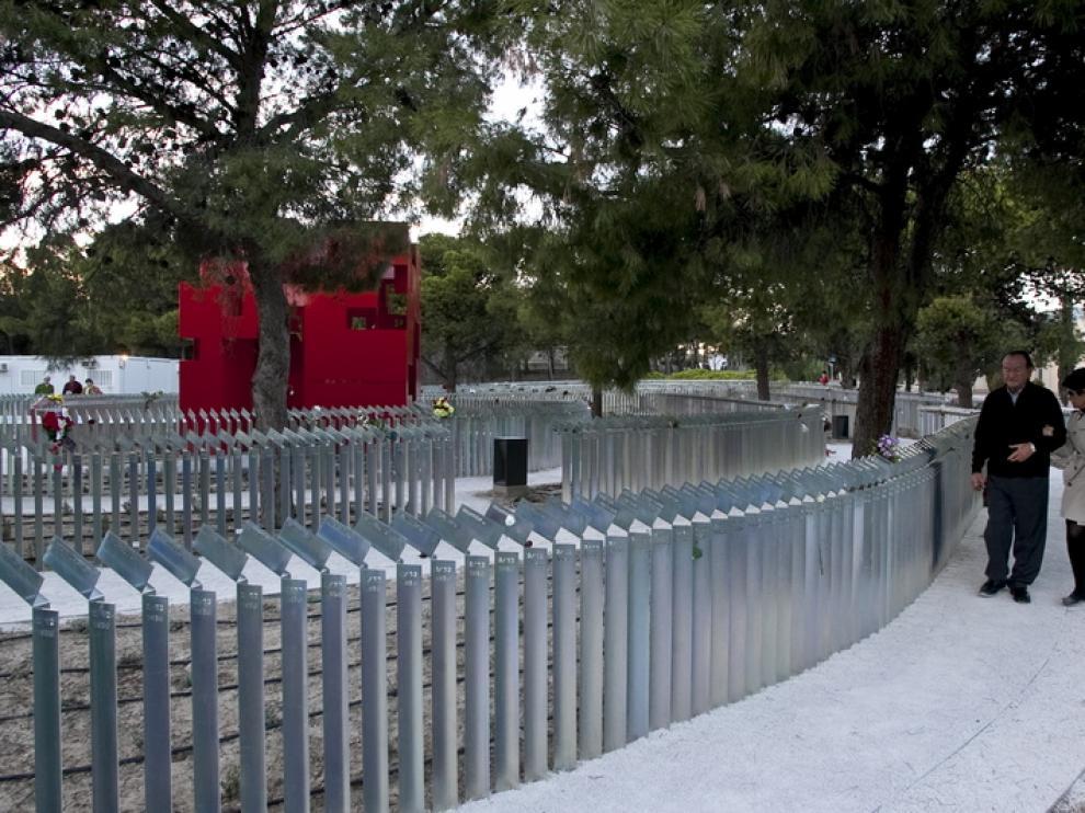 El Memorial del cementerio de Torrero
