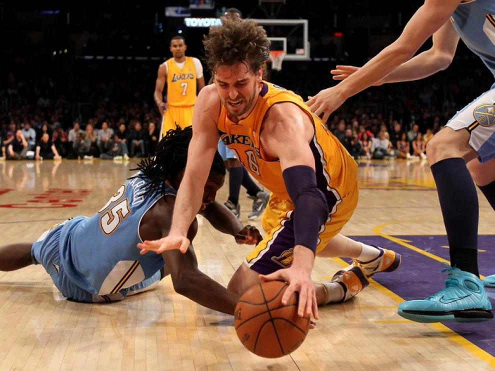 Pau Gasol, de los Lakers