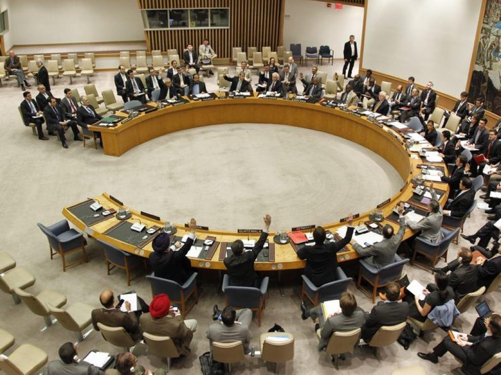 Reunión del consejo de la ONU para Siria