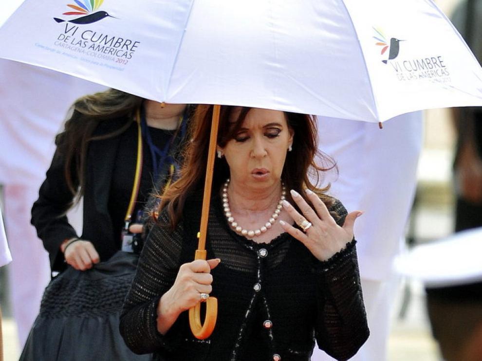Fernández de Kirchner, en Cartagena de Indias