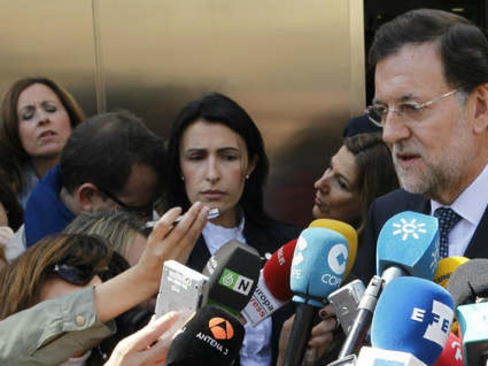 Visita de Rajoy al Rey