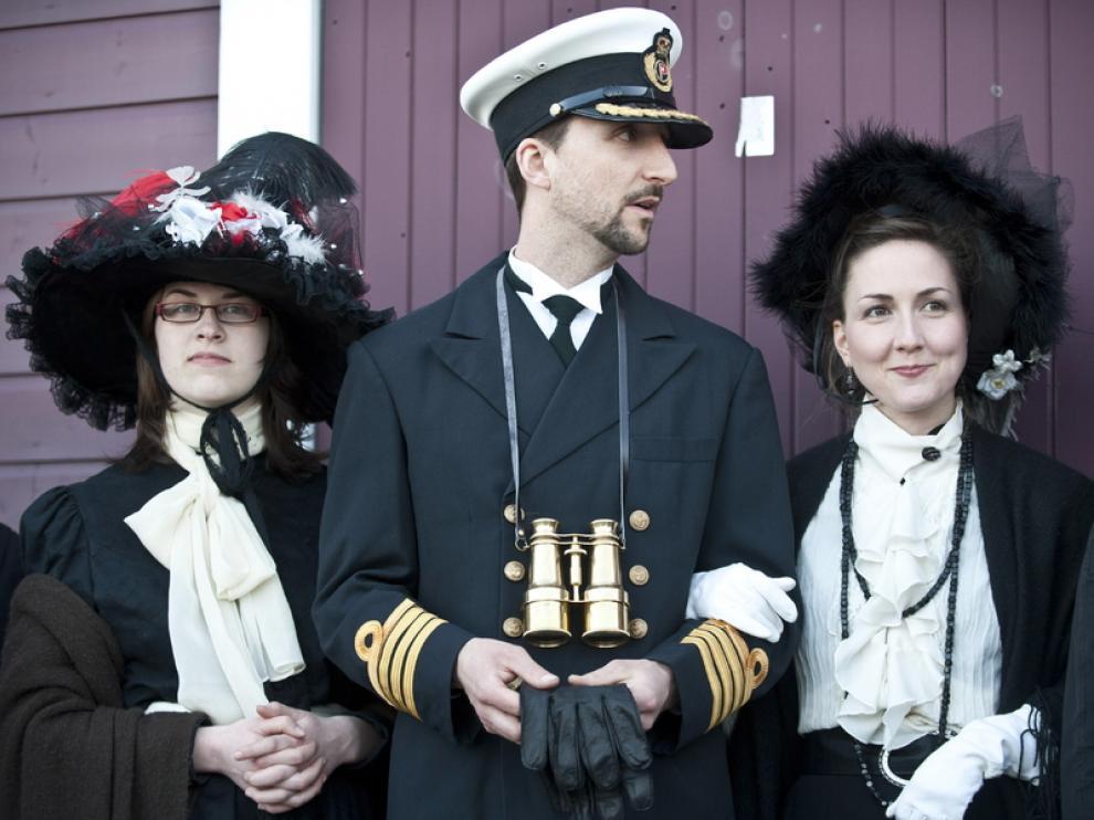 Homenaje en Halifax a las víctimas del Titanic