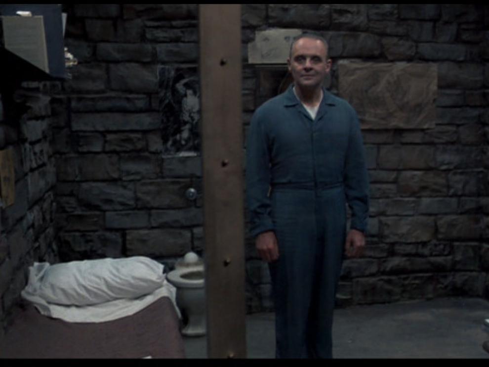 Fotograma de la película, 'El silencio de los corderos'.
