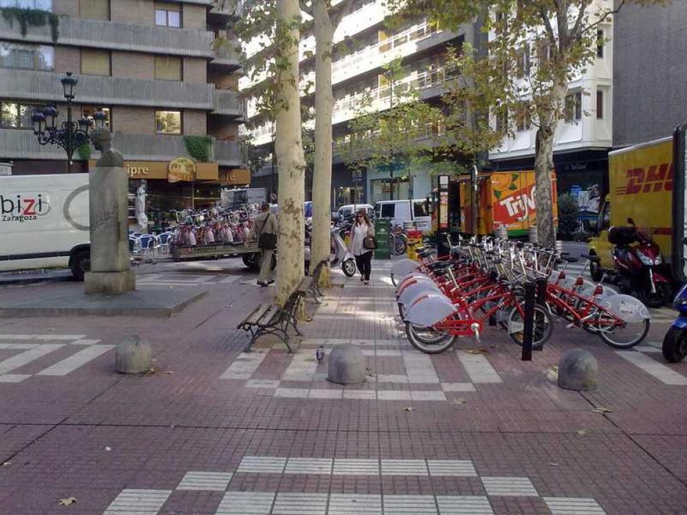 Estación peligrosa, según IU, en la calle Cádiz